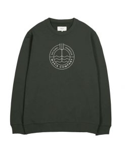 Makia Trident Light Sweatshirt Dark Green