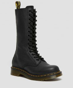 Dr. Martens 1B99 Virginia Leather High Boots Black