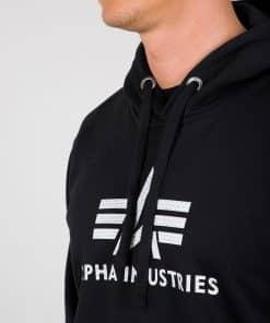 Alpha Industries 3D Logo Hoody Black