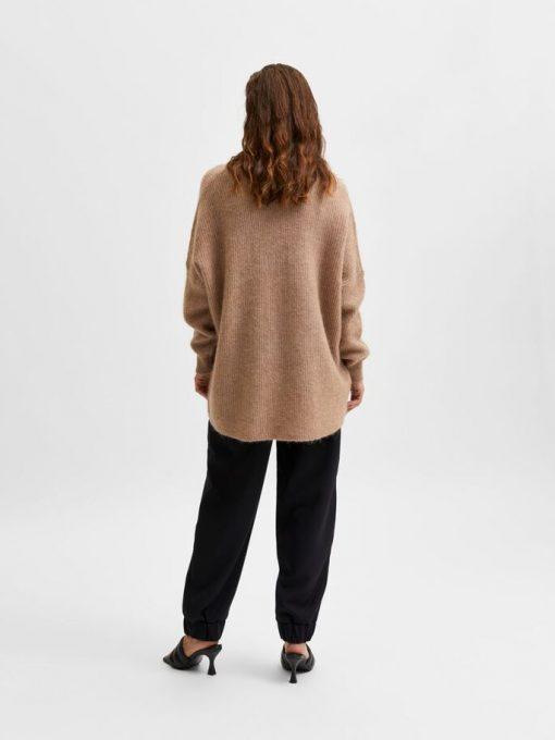 Selected Femme Lulu Enica Long Knit Amphora