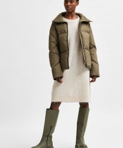Selected Femme Lulu Knit Dress Birch