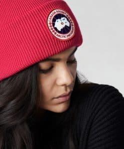 Canada Goose Arctic Disc Rib Togue Unisex Red