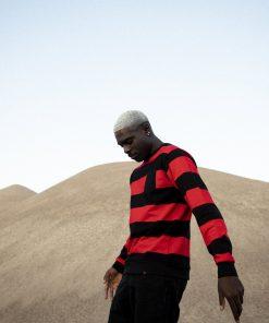 Billebeino Striped Sweatshirt Red/Black