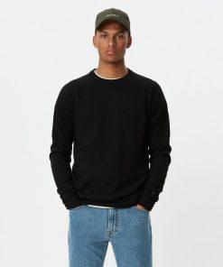 Les Deux Ethan Wool Knit Black
