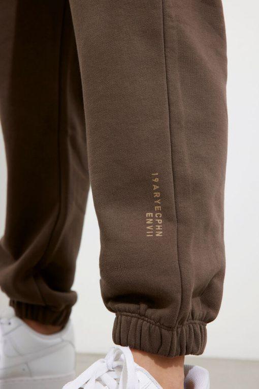 Envii Enmonroe Pants Logo Slate Black