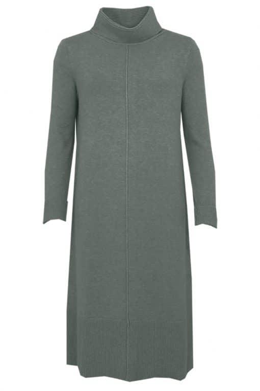 Sti Nenna Knit Dress Herbal Green