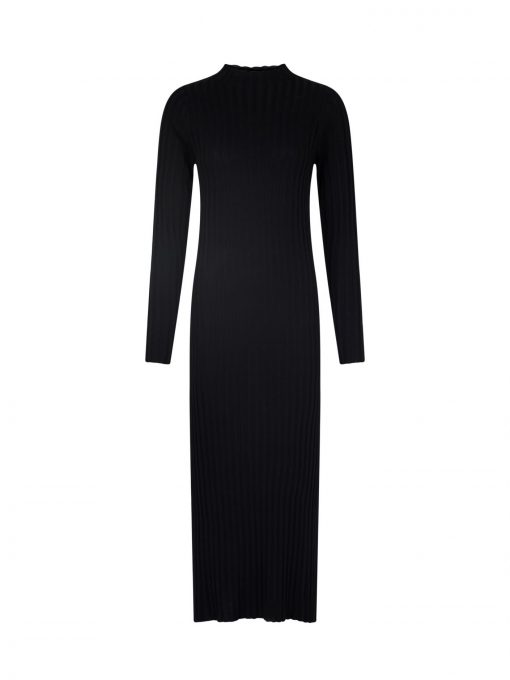 Neo Noir gabi Knit Dress Black
