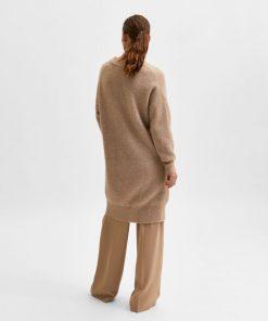 Selected Femme Sif Khloe Knit Dress Amphora