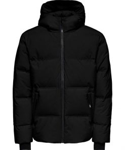Only & Sons Down Puffer Jacket Black