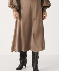 Part Two Lilyann Skirt Walnut