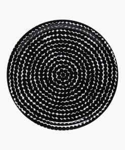 Marimekko Räsymatto Tray Black/White