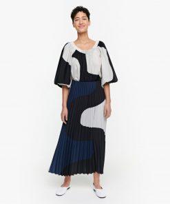 Marimekko Oksien Seireeni Skirt Blue