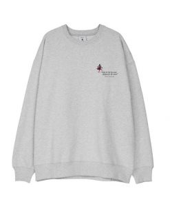 Makia My Sweatshirt Light Grey