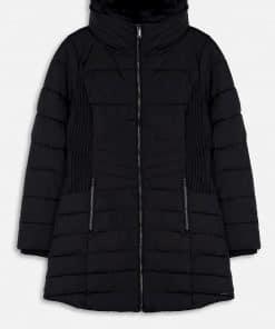 Rino & Pelle Golda Padded Coat Black