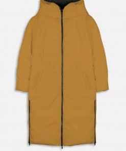 Rino & Pelle Keila Reversible Long Padded Coat Black