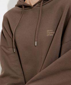Envii Enewald Hoodie Logo Slate Black