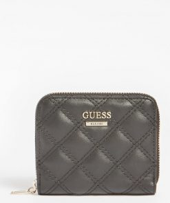 Guess Cessily Mini Wallet Black