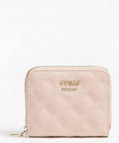 Guess Cessily Mini Wallet Light Pink